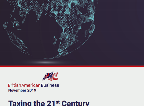 BABC sister chapter, BAB, Publishes its Position on Digital Services Taxation: Taxing the 21st Centu