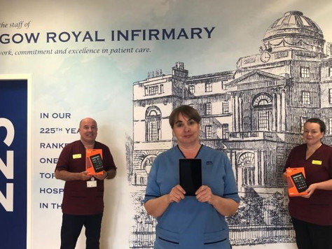 BABC member BAE Systems Donates Tablets and Face Shields to the NHS