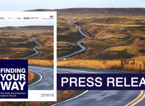 BABC Launches Finding Your Way: The Trade and Investment Guide to the US 2018/19 – Produced by Briti