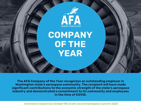 AFA Aerospace Summit Awards: Nominations Open