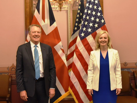 The UK and U.S. Complete Third Round of FTA Negotiations