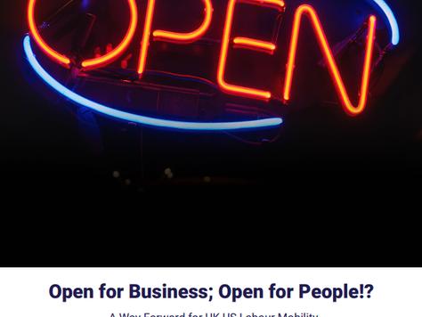 BABC sister chapter, BritishAmerican Business, Publishes Transatlantic Labour Mobility Paper - Open