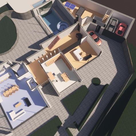 House 1 - Rendering - 3D Floor Plan GF.j