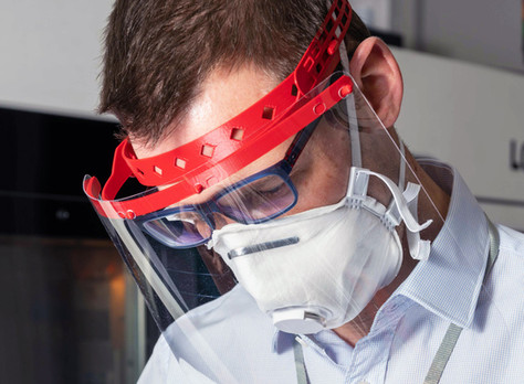 BABC member BAE Systems donates more than 120,000 face shields to help protect NHS staff on the fron