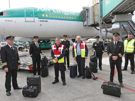 BABC member Aer Lingus' Critical Supply Operation from Beijing to Dublin Commences