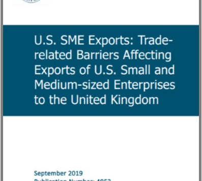 Publication of New Report Detailing Trade Barriers for US SMEs
