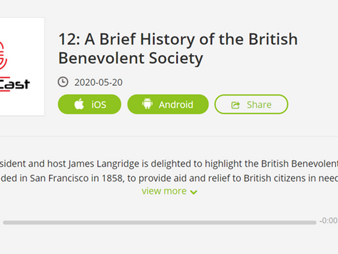 A Brief History of the British Benevolent Society