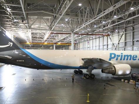 BABC Member Amazon Continues to Expand Its Transportation Fleet With Purchased Aircraft
