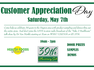39th Anniversary Customer Appreciation Day