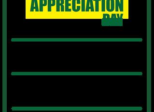 Customer Appreciation Day - Saturday May 4th