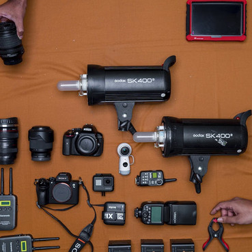 Our Video & Fliming Gear 2020
