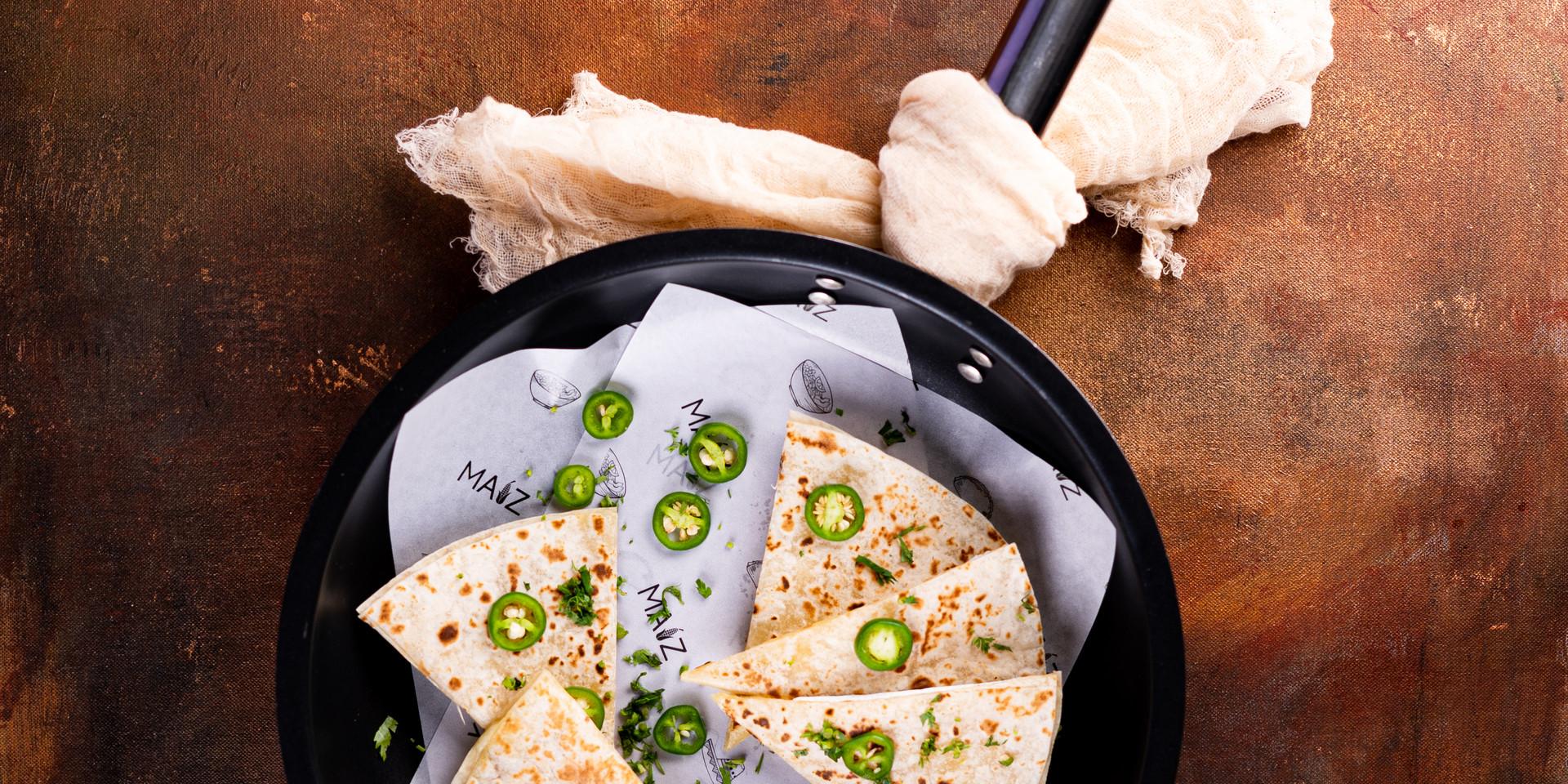 quesadilla by maiz kitchen