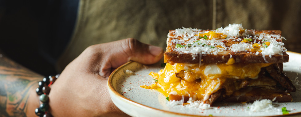 Grilled Cheese Sandwiches by Chef Kelvin Cheung