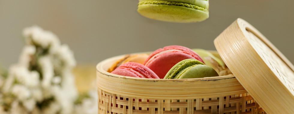 Macroons by Chef Pooja Dhingra