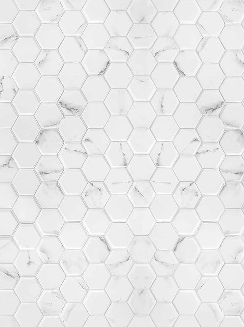 Classic Hex Lux Marble