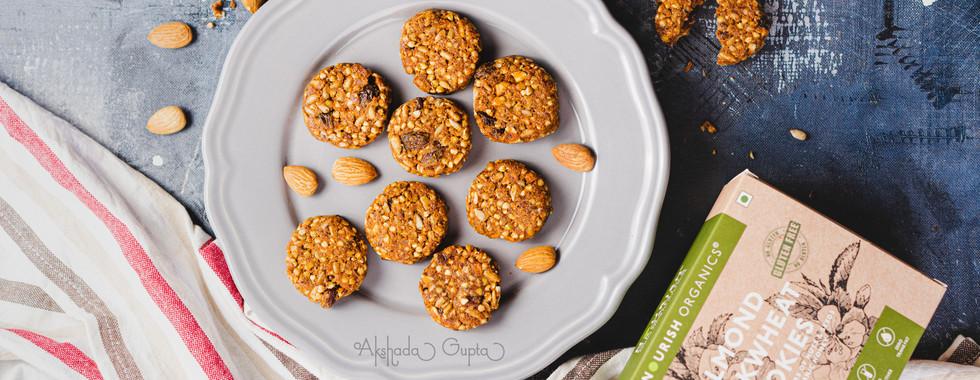 Almond Cookies by Nourish Organics