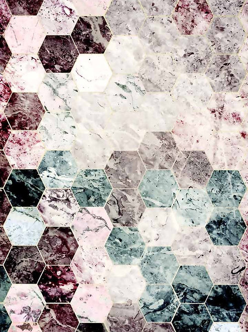 Moody Hex Lux Marble
