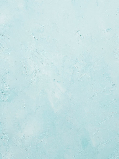 Pastel Blue Spackle Wall