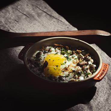 Goa Shakshuka by Le 15 Cafe Chef Pabloe