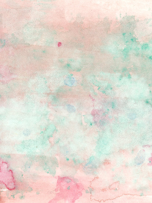 Candy Floss Watercolor