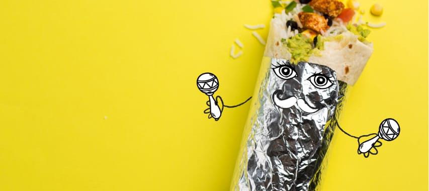 Burrito at Maiz Kitchen, Mumbai