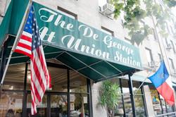 De George at Union Station