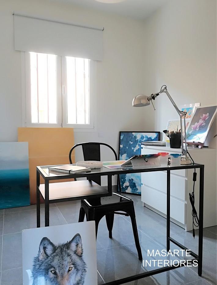 Dormitorio - estudio