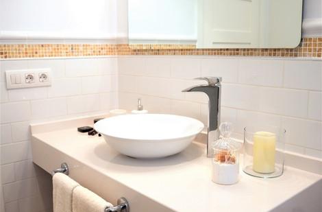 Baño en blanco
