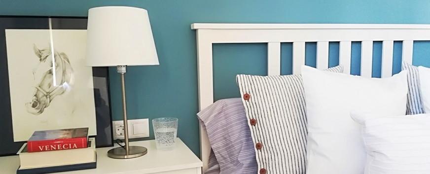 Detalle de dormitorio principal