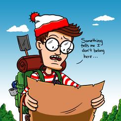Waldo enters Uncharted Territory