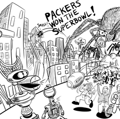 Packers Won the Superbowl!