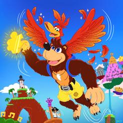 Banjo & Kazooie Flying High