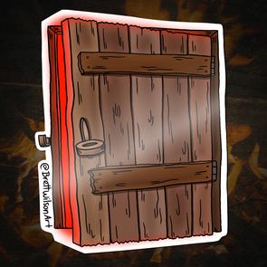 27 - Cellar Door Demon (Red Light)