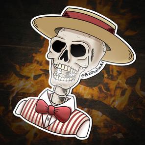 026 - Cellar Door Demon (Skeleton Form)