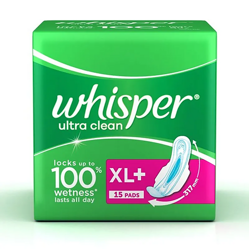Whisper Ultra Clean XL+ 15s