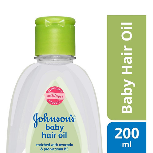 Johnson's Baby Hair Oil 200 ml