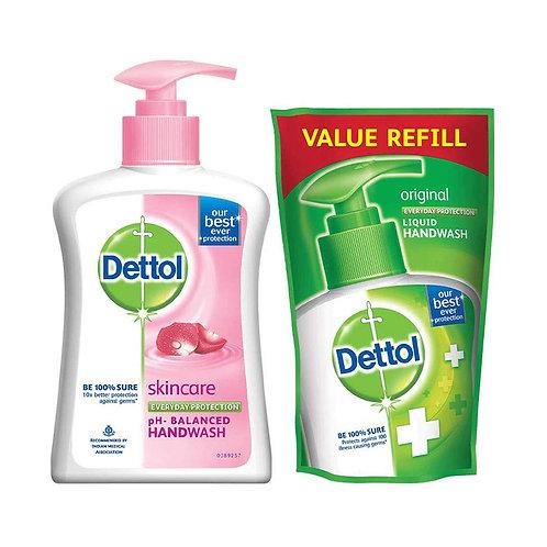 Dettol Hand Wash 200 ml+Free Refill 175 ml
