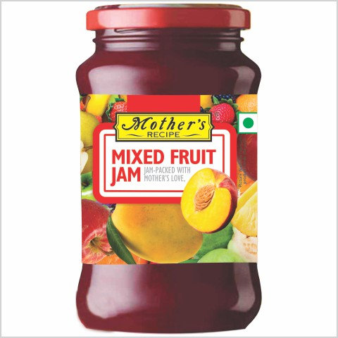 Mother's Mixed Fruit Jam 500 g