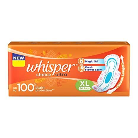 Whisper Choice Ultra XL 20s