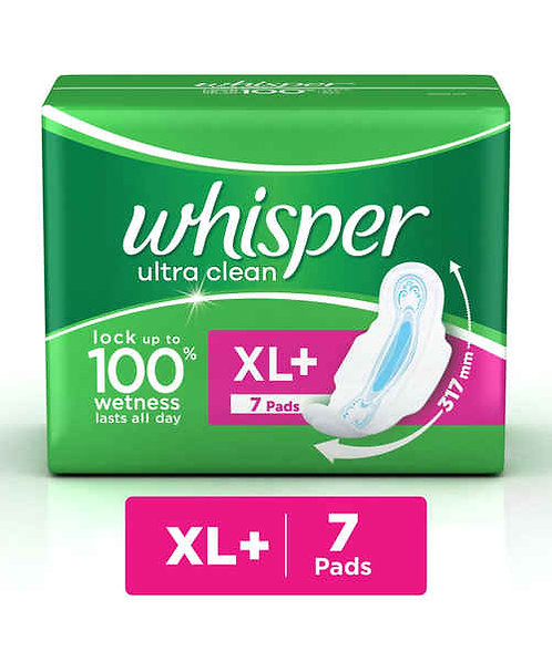 Whisper Ultra Clean XL+ 7s