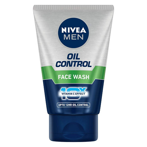 Nivea Men Oil control Face wash 100g