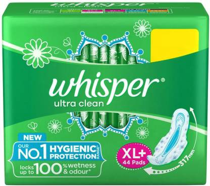 Whisper Ultra Clean XL+ 44s