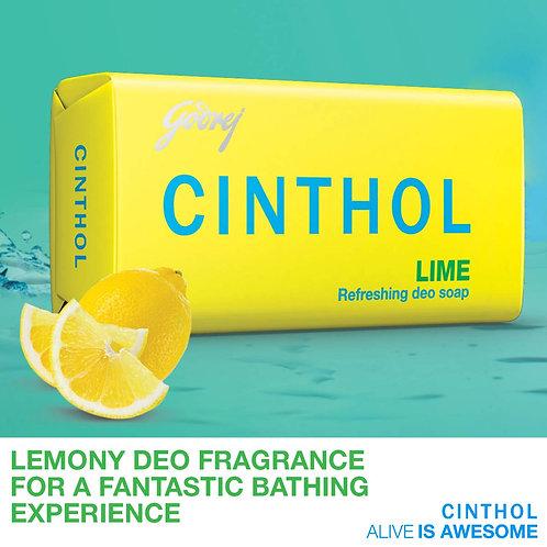 Cinthol lime Bathing Bar 125 g