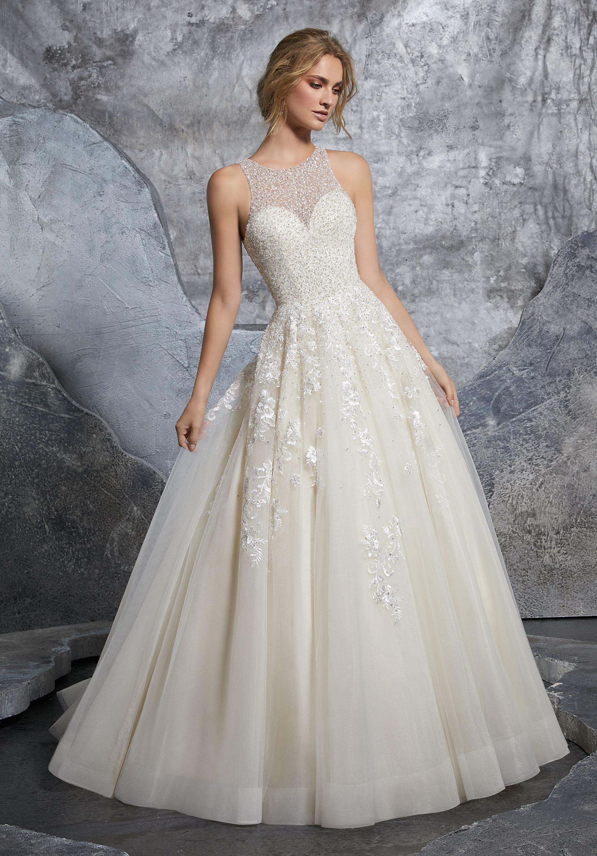 Mori Lee Wedding Dress 8215