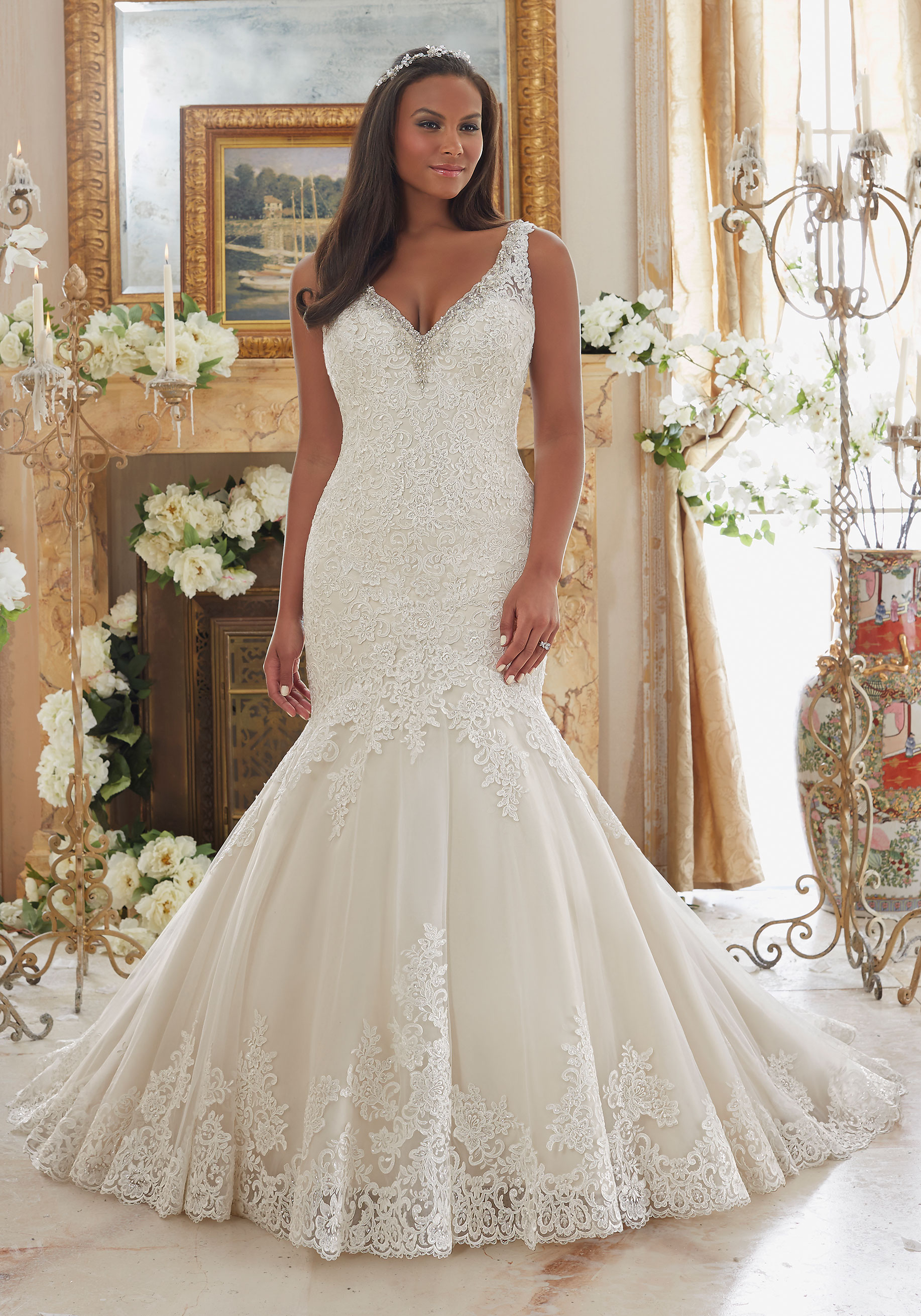 Mori Lee Wedding Dress 3204
