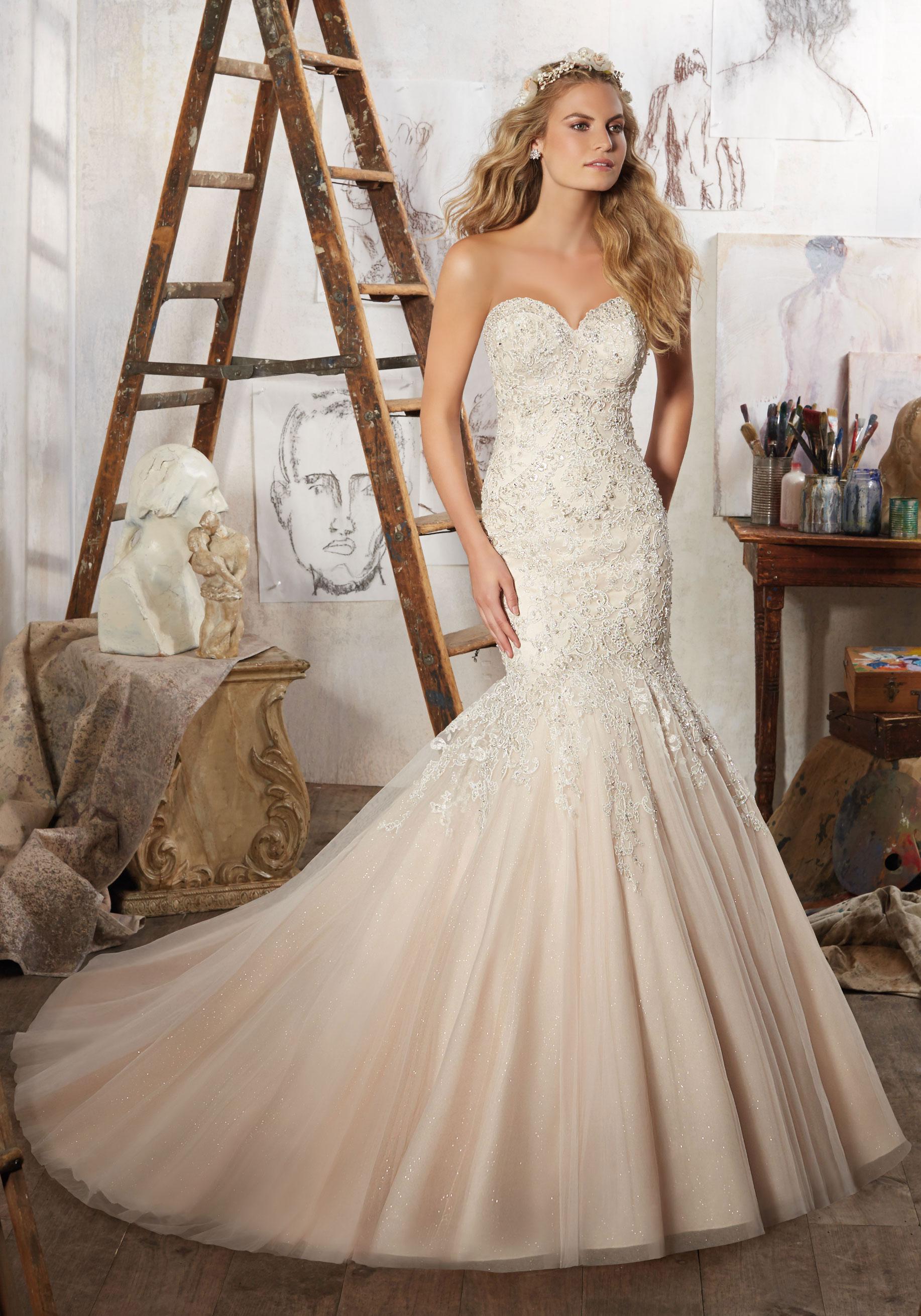 Mori Lee Wedding Dress 8125
