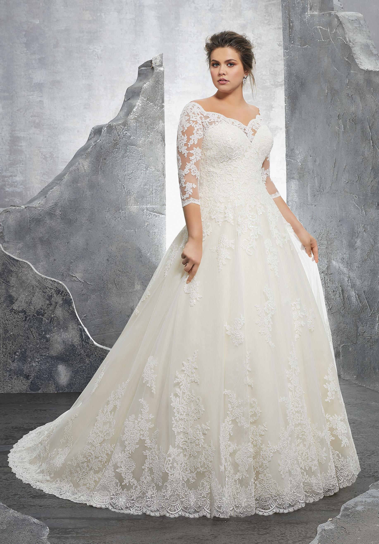 Mori Lee Wedding Dress 3235