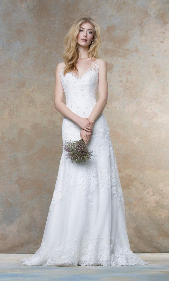 Ellis Bridals 18012 Wedding Dress