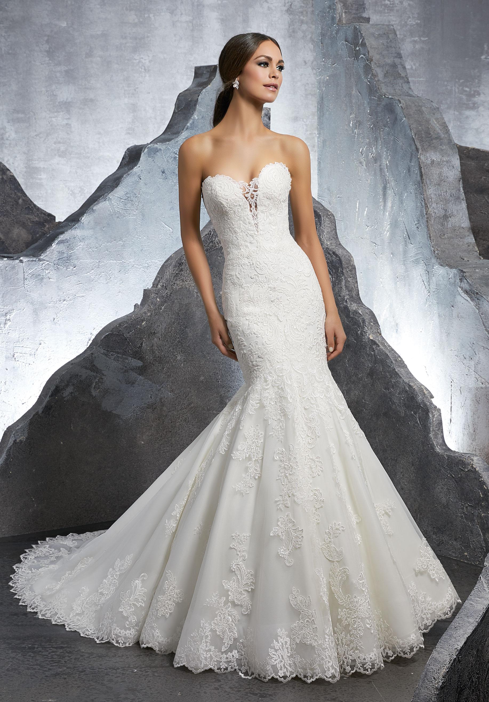 Mori Lee Wedding Dress 5607