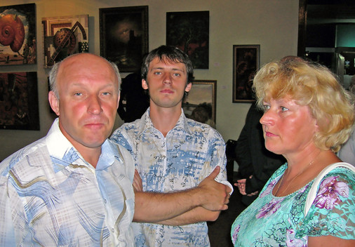 """Выставка """"АнтРакТ"""". Черкассы. 2006 г."""